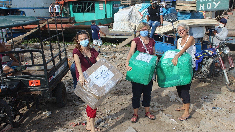 Papież Franciszek wspiera Misjonarki w Amazońskiej dżungli